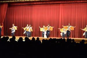 YOSAKOI演舞の「和敬」