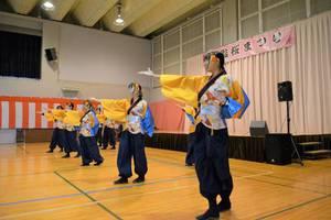 YOSAKOIの演舞