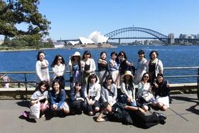 昨年実施、本学の海外文化研修(シドニー)