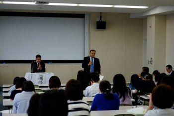 佐藤新協和会長のご挨拶。