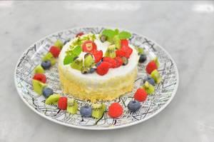 今日の目標はこれ!「レアチーズケーキ」