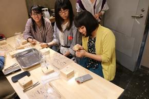 日本の飴細工を初挑戦