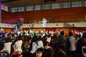 YOSAKOI総踊りに参加の地域の皆さん