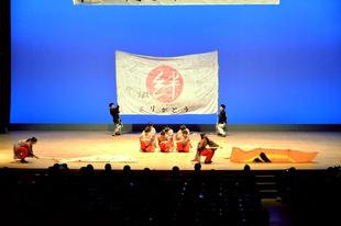 「和敬」の演舞
