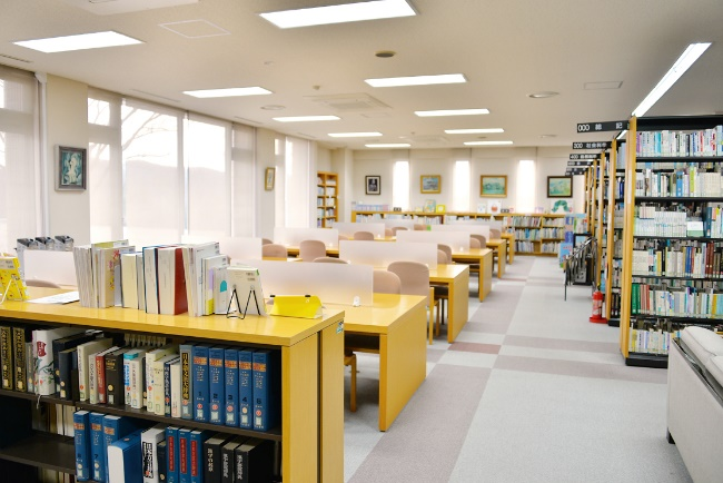 図書館の充実した設備