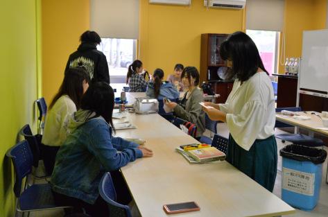 ⑪-1カフェ実習室