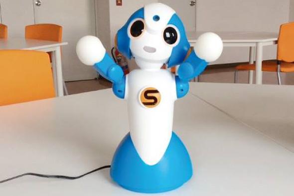 コミュニケーションロボットでレクリエーション