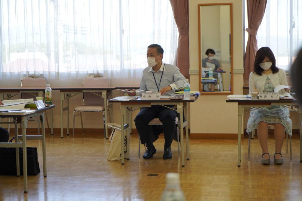 鳴海学長から感染症対策について追加説明がなされました。