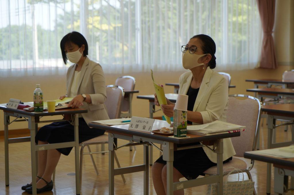 新たな入試制度について入試センター長から報告
