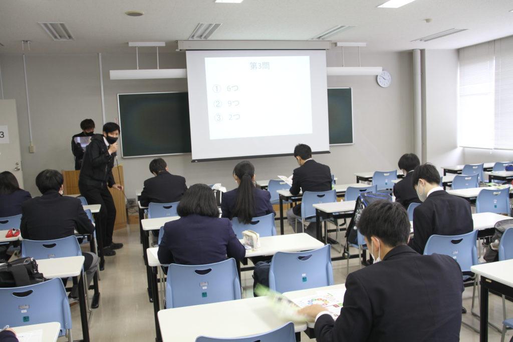 大曽根アドミッションオフィサーから短大の学びについて説明