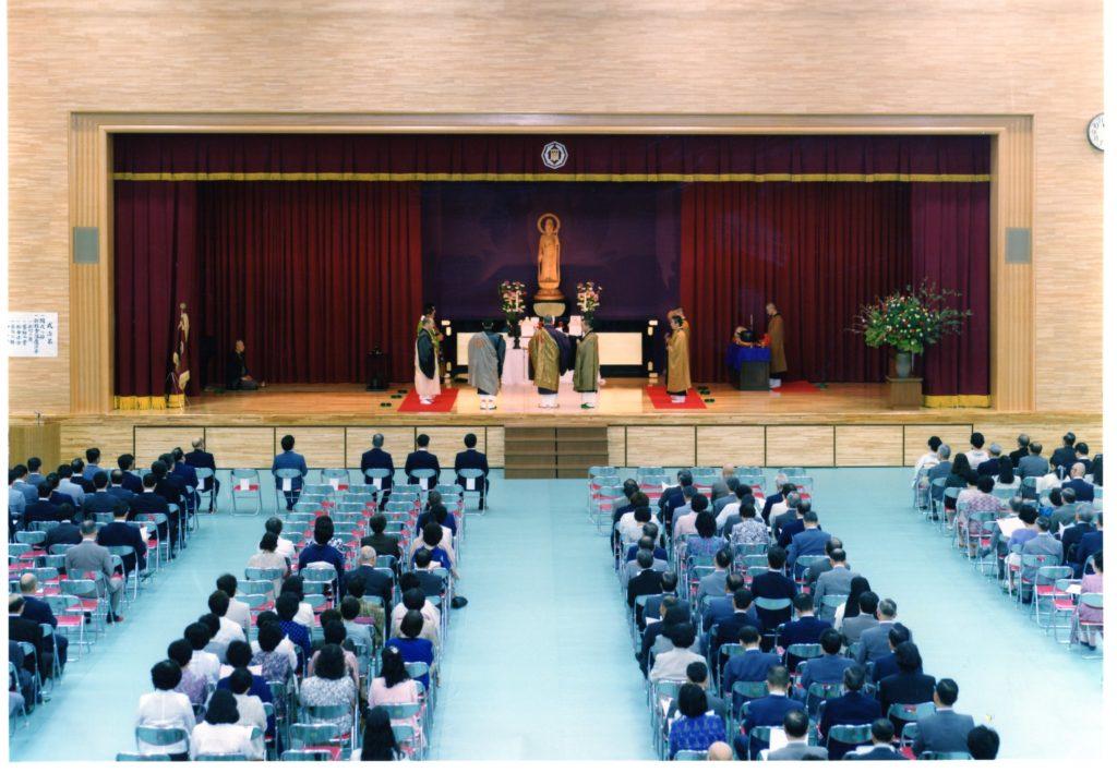 新校舎落慶式(昭和63/5/31)
