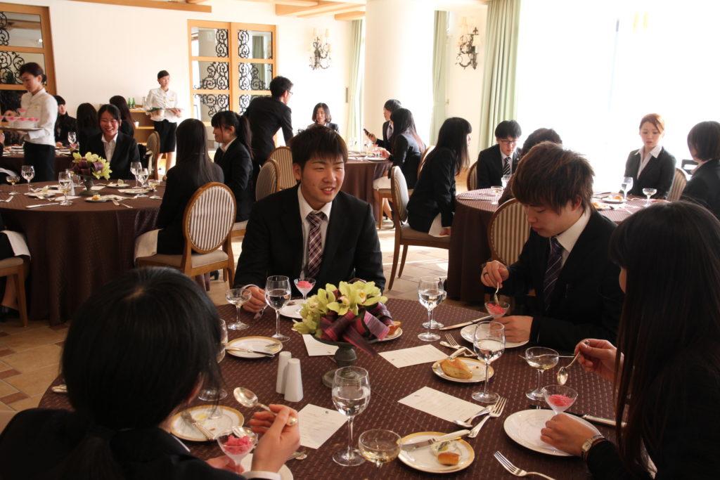 仙台ロイヤルパークホテルでのテーブルマナー講習会。美味しかったけど緊張しました。平成27年1月20日