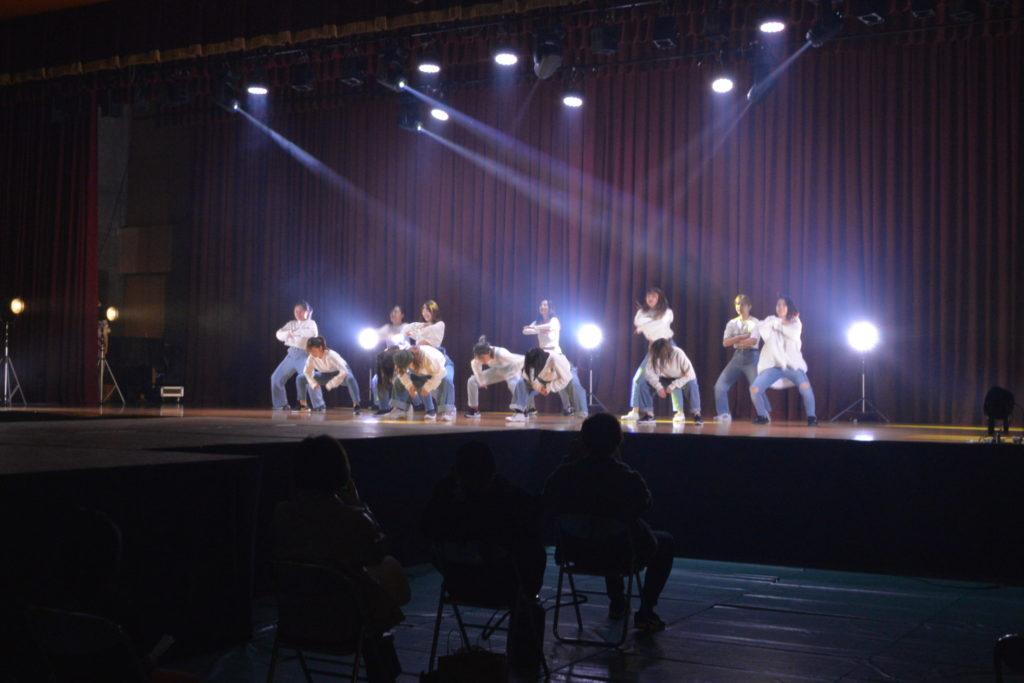 ストリートダンス部「PEEK-A-BOO!!」、さすが全国大会出場を果たしている皆さんの踊りは素晴らしかったです。