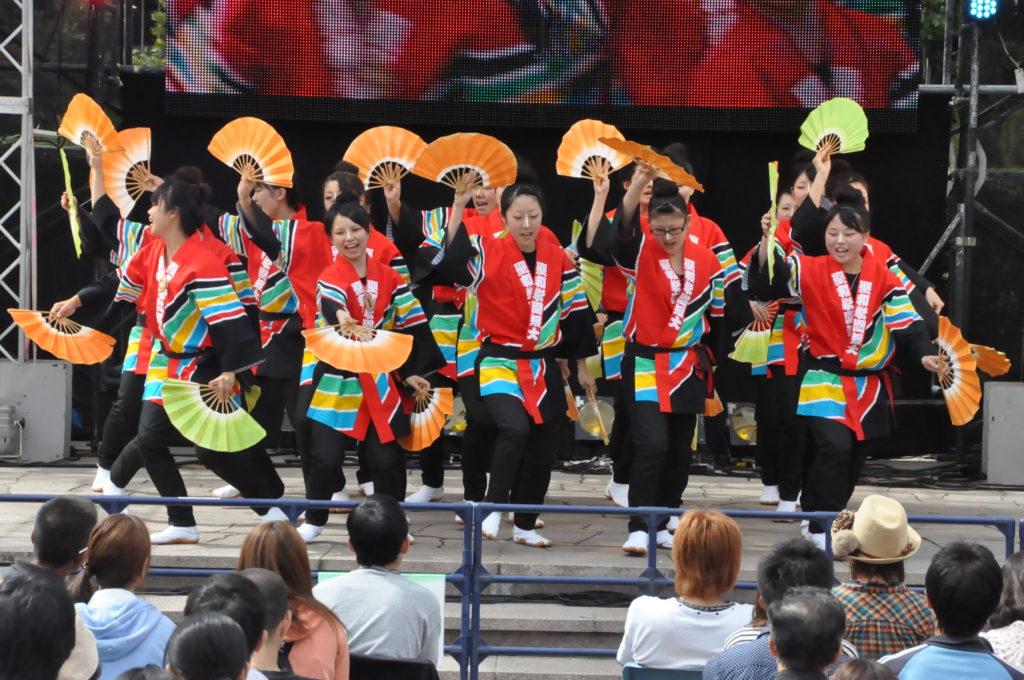 仙台放送まつりで、張り切って踊る姿も見られるようになってきました。 平成23/9/25