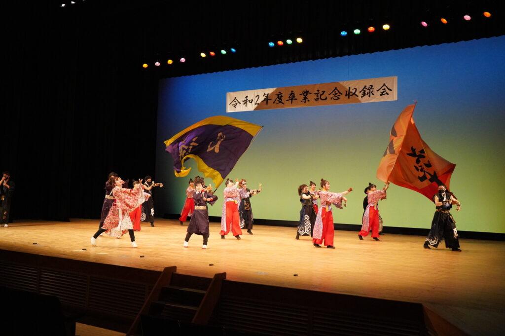 「和敬」、「月詠」さん、そして「神威」さんも加わって「踊るYOSAKOI愛日本」は、これまでのお付き合いの深さがわかる感動の踊りでした。