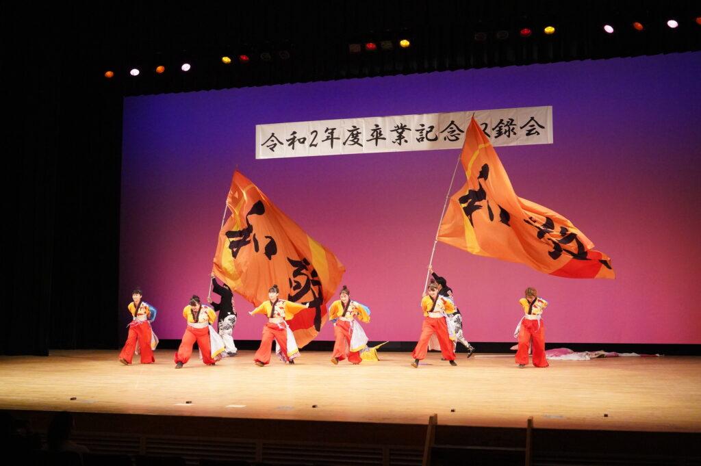 ラストを飾る和敬「龍吟虎嘯」はコロナ禍という逆境の中で一生懸命、躍り込んだ気迫こもる素晴らしい踊りでした。