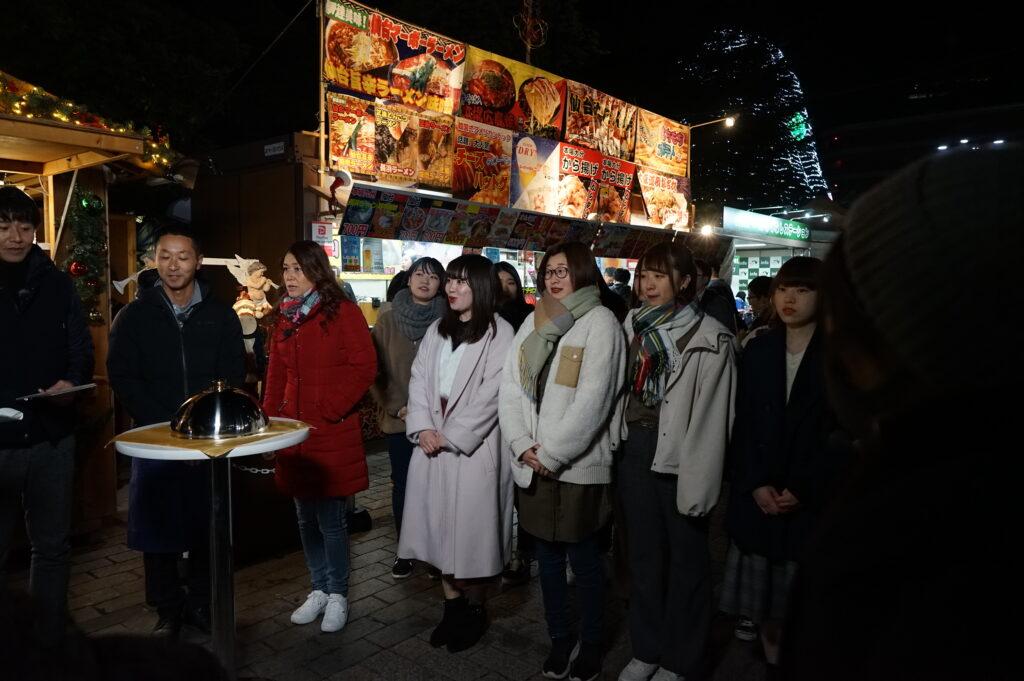 「仙臺いろは増刊号」では仙台市民広場前で企業とタイアップした新しいお菓子作りに挑戦しました。令和元年12月6日