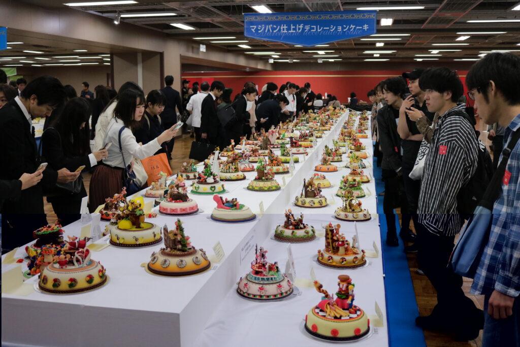 ジャパンケーキショーにマジパンを出展。でも驚くほどの出品点数に驚き!令和元年10月16日