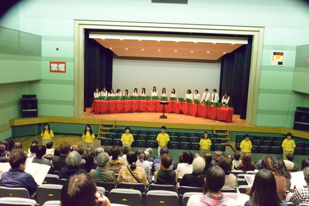 ハンドベルサークルが仙台市福祉プラザにてチャリティーコンサートに出演しました。平成27年10月17日
