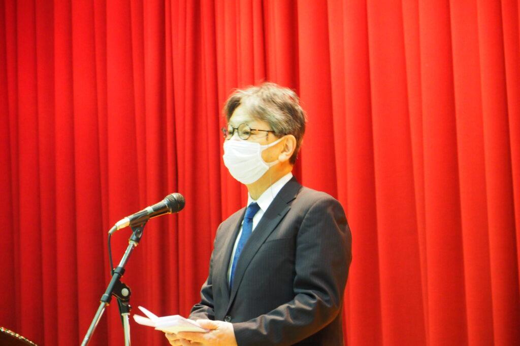 学長先生による創立70周年記念のご挨拶