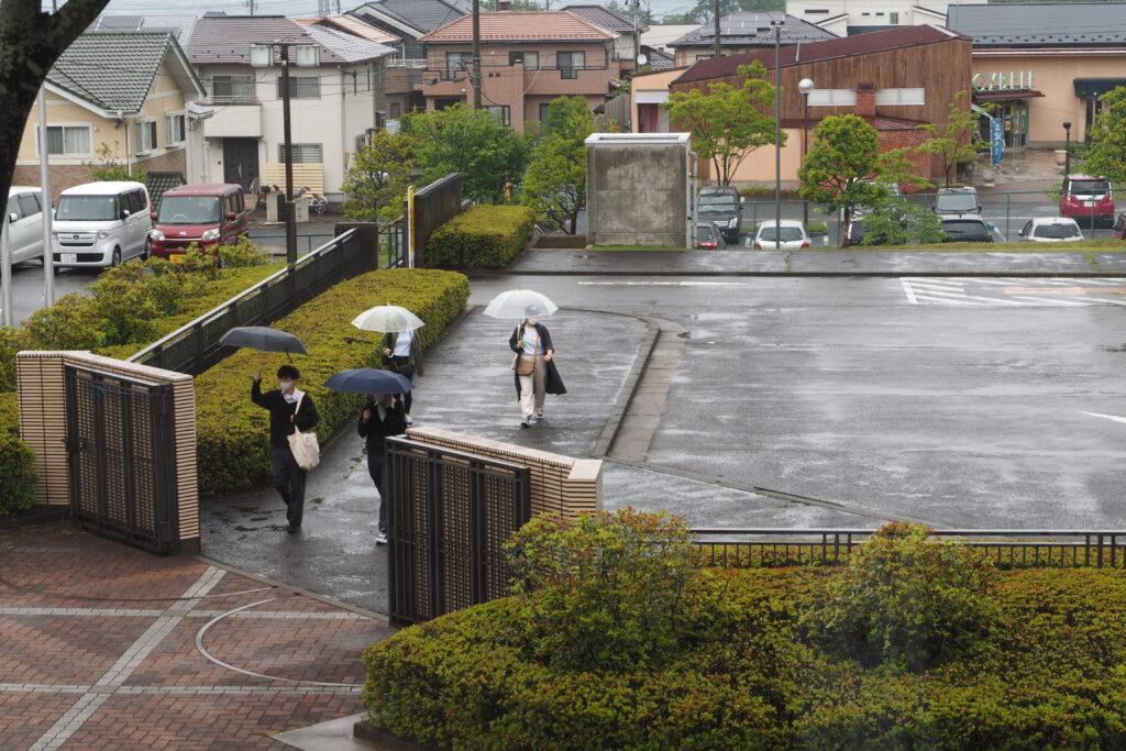 あいにくの雨模様の中、足を運んでいただきありがとうございました。