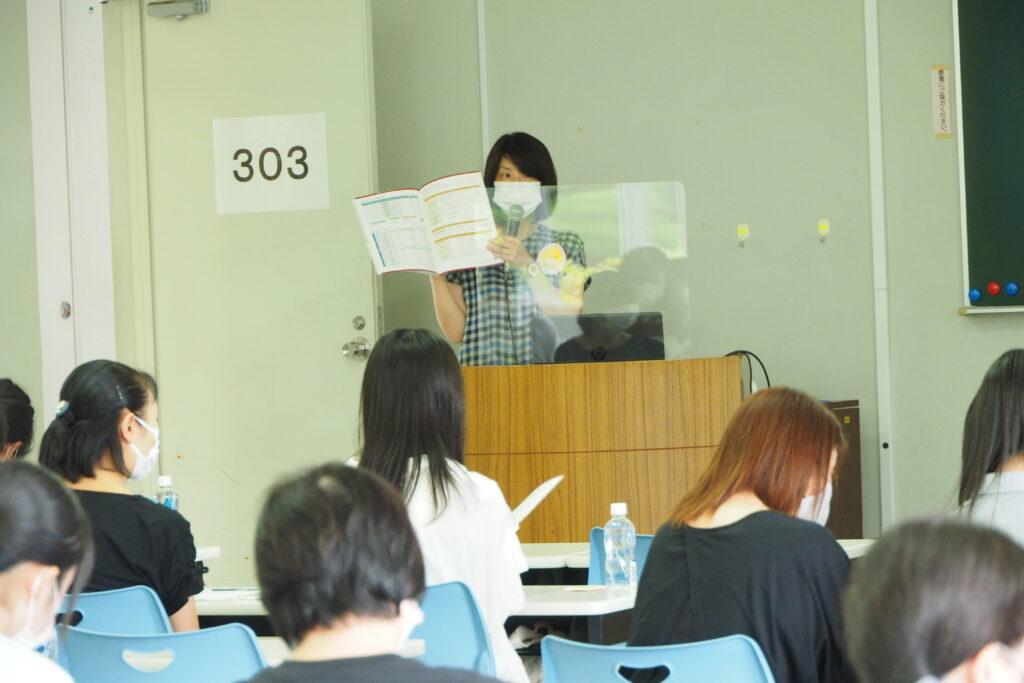 入試準備レッスンでは特に総合型選抜Aの内容についてしっかり説明を受けました。